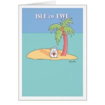 ISLE OF EWE CARD