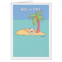 ISLE OF EWE CARD