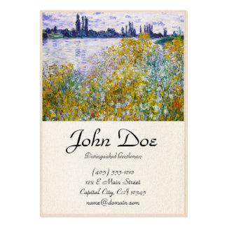 Isle of Flowers on the Seine near Vetheuil Large Business Cards (Pack Of 100)