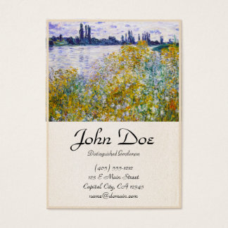Isle of Flowers on the Seine near Vetheuil Business Card
