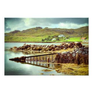 Isle of Harris Shoreline Photo Print