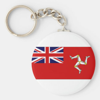 Isle of Man Civil Ensign Keychain