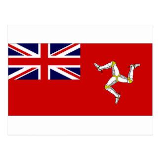 Isle of Man Civil Ensign Postcard
