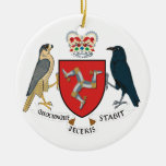 Isle of Man Coat of Arms Christmas Ornament