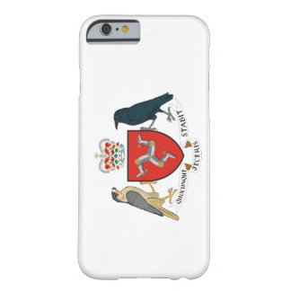 isle of man emblem barely there iPhone 6 case