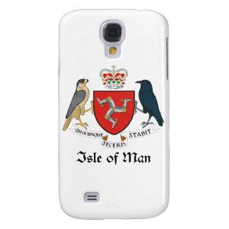 ISLE OF MAN - emblem/flag/symbol/coat of arms Samsung Galaxy S4 Case