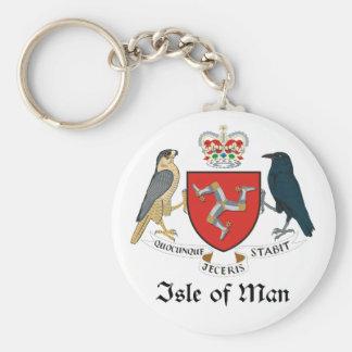 ISLE OF MAN - emblem/flag/symbol/coat of arms Keychain