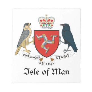 ISLE OF MAN - emblem flag symbol coat of arms Note Pads