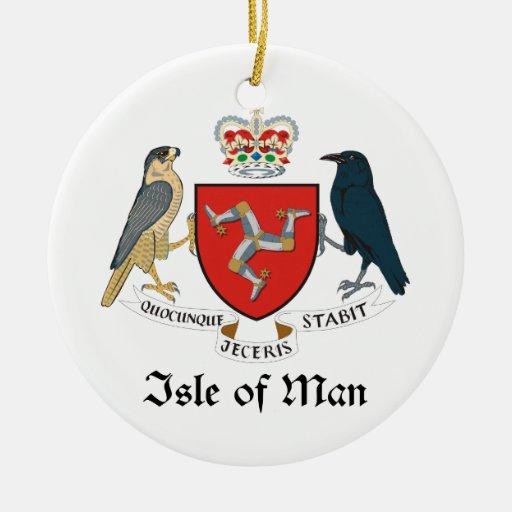 ISLE OF MAN - emblem/flag/symbol/coat of arms Ornaments