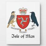 ISLE OF MAN - emblem/flag/symbol/coat of arms Plaques