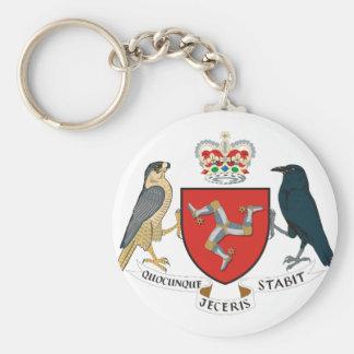isle of man emblem keychain