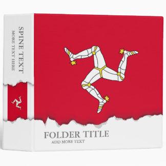 Isle of Man Flag Binder