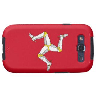 Isle of Man Flag Samsung Galaxy S3 Case