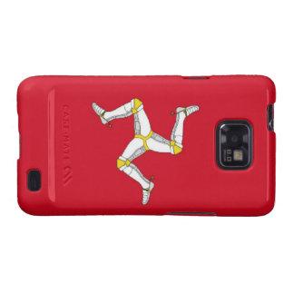 Isle of Man Flag Samsung Galaxy S2 Cases