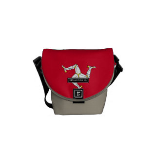 Isle of Man Flag Courier Bag