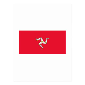 Isle Of Man FLAG International Postcard