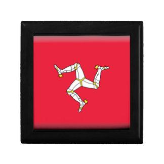 Isle of Man Flag Jewelry Box