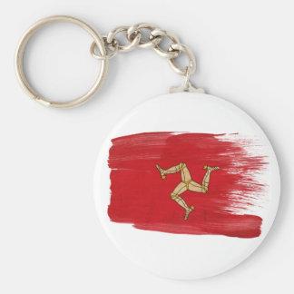 Isle of Man Flag Keychain