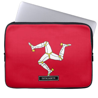 Isle of Man Flag Laptop Sleeve