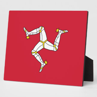 Isle of Man Flag Plaque