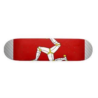 Isle Of Man Flag Skateboards