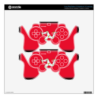Isle of Man Flag PS3 Controller Skins