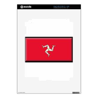 Isle of Man Flag Skin For iPad 2