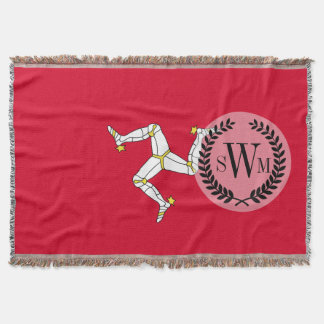 Isle of Man Flag Throw