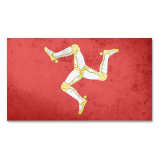 Isle of man Flag Magnetic Business Cards (Pack Of 25)