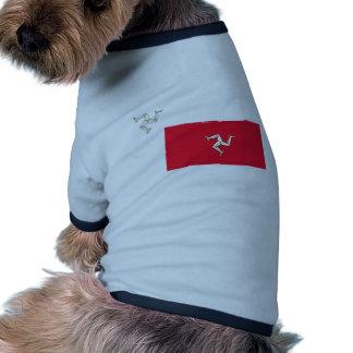 Isle Of Man, Ireland flag Pet Shirt