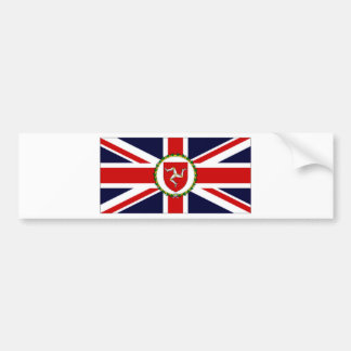 Isle of Man Lieutenant Governor Flag Bumper Sticker
