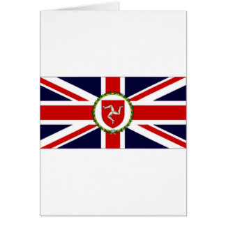 Isle of Man Lieutenant Governor Flag Greeting Card