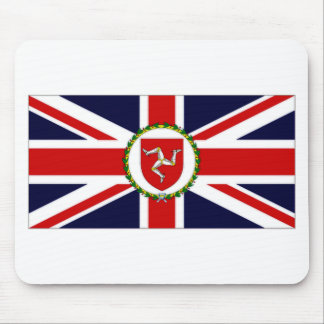 Isle of Man Lieutenant Governor Flag Mouse Pad