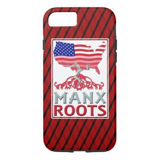Isle of Man Manx American Cell Phone Case