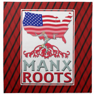 Isle of Man Manx American Napkins