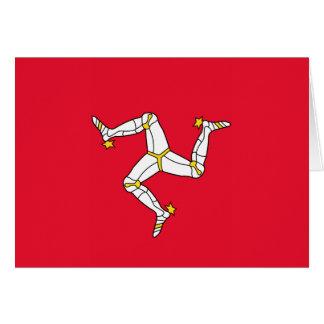 Isle of Man – Manx Flag Card