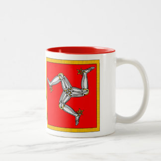 Isle of Man Two-Tone Coffee Mug