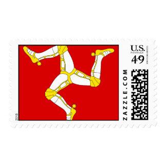 Isle of man postage stamp