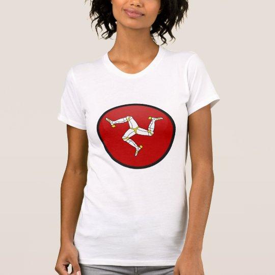 Isle Of Man quality Flag Circle T-Shirt