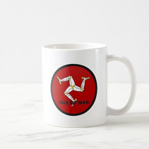 Isle Of Man Roundel quality Flag Mug