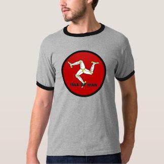 Isle Of Man Roundel quality Flag T-shirt