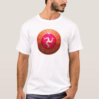 Isle of mann flag shield T-Shirt