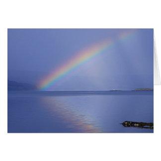 Isle of Mull Rainbow Card