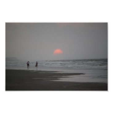Beach Themed Isle of Palms Sunrise Poster