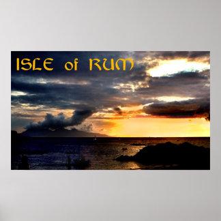 isle of rum poster