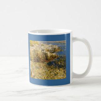 Isle Of Shoals by Frederick Childe Hassam Classic White Coffee Mug