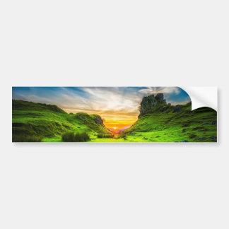 Isle of Sky Valley Bumper Sticker