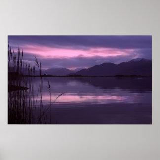 Isle of Skye. Dawn Print
