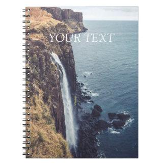 Isle of Skye - Mealt Falls | Spiral Notebook