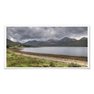 Isle of Skye Mountains Panorama Photo